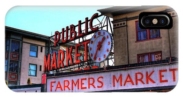 Public Market II IPhone Case