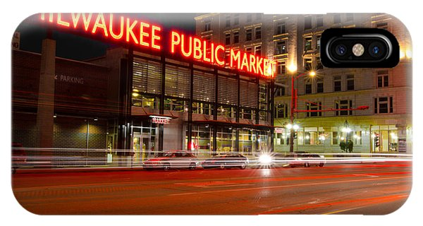 Public Market IPhone Case