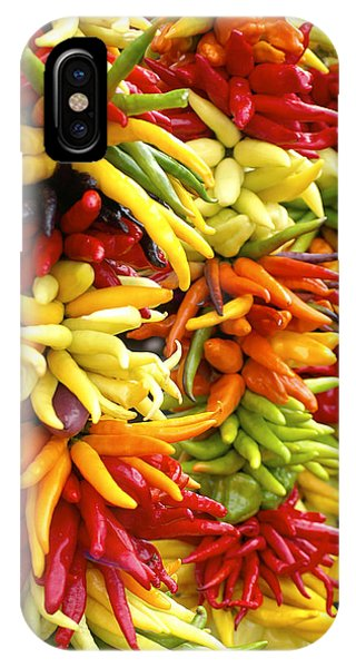 Public Market Peppers IPhone Case