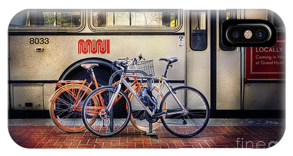 Public Tier Bicycles IPhone Case
