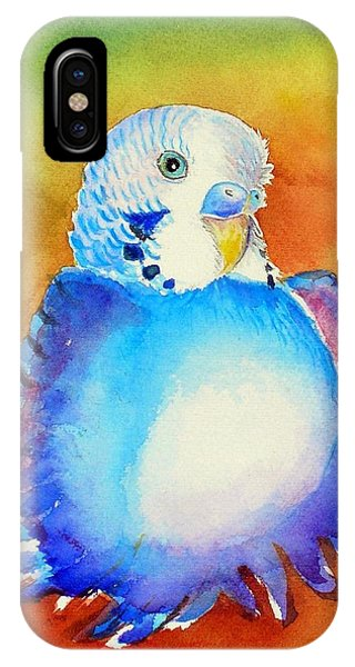Pudgy Budgie IPhone Case