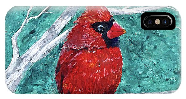Pudgy Cardinal IPhone Case