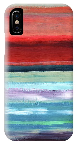 New Mexico iPhone Case - Pueblo- Abstract Art By Linda Woods by Linda Woods