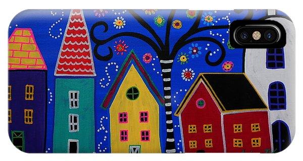 Pueblo I Painting IPhone Case