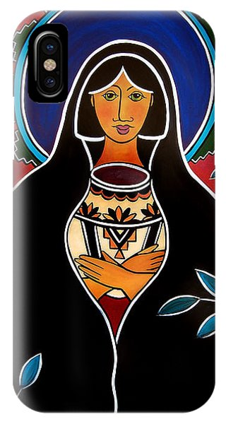 Pueblo Madonna IPhone Case