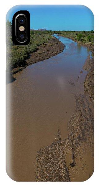 Puerco River Flows IPhone Case