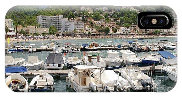 Puerto De Soller In Majorca IPhone Case