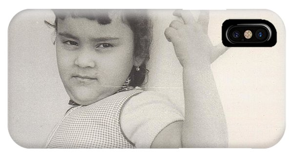 Puerto Rican-american Girl 1964 IPhone Case
