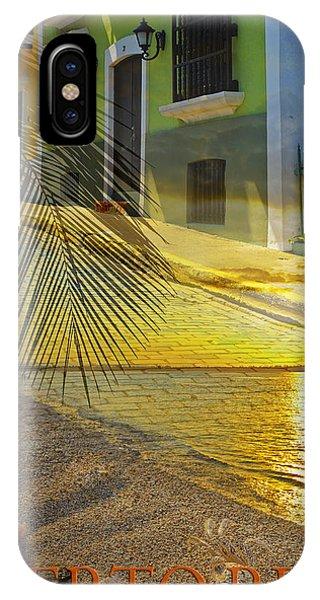Puerto Rico Collage 3 IPhone Case