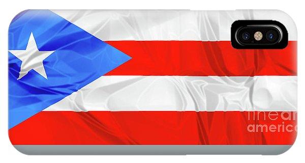 Puerto Rico Flag IPhone Case
