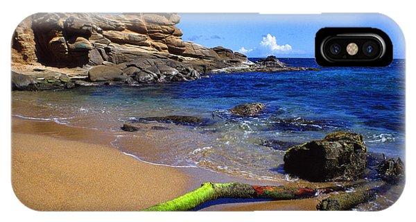 Puerto Rico Toro Point IPhone Case