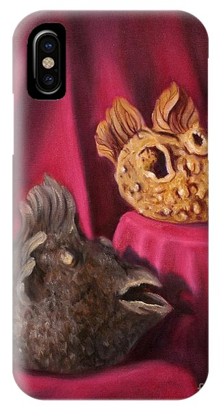 Puffer Fish Teapots IPhone Case