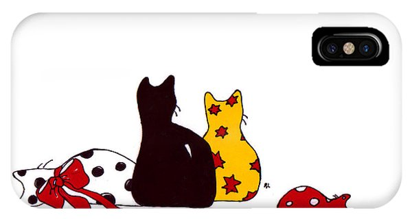 Puffie And Muffie Family Portrait IPhone Case