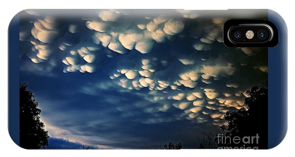 Puffy Storm Clouds IPhone Case