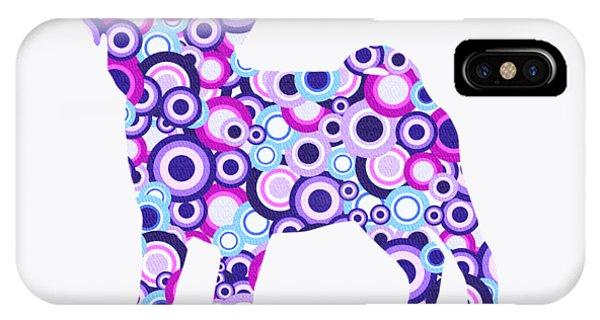 Pug - Animal Art IPhone Case
