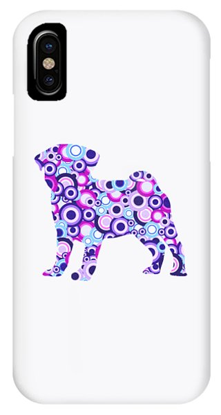 Pug - Animal Art IPhone Case