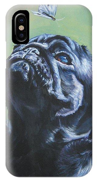 Pug Black  IPhone Case