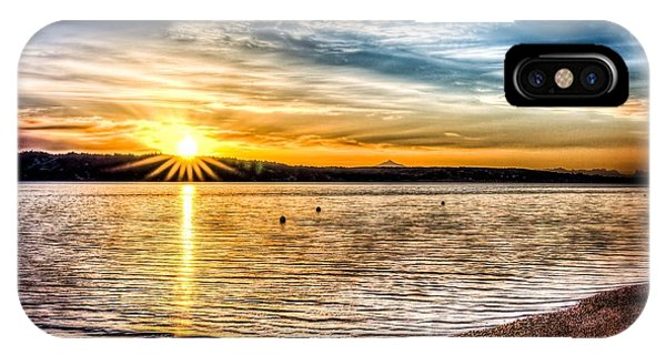 Puget Sound Sunrise IPhone Case