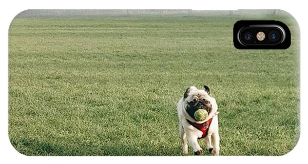 #pugsofinstagram #puglife #pug Phone Case by Natalie Anne