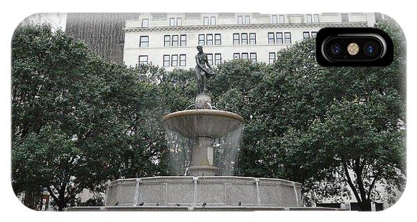 Pulitzer Fountain IPhone Case