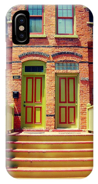Pullman National Monument Row House IPhone Case