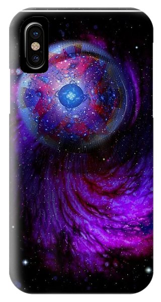 Pulsar At The Edge Of Space IPhone Case