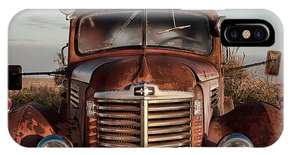 Pumper No 4 Fire Truck In The Mississippi Delta IPhone Case