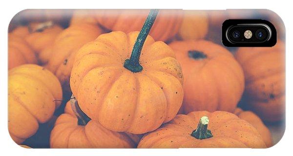 Pile O' Pumpkins IPhone Case