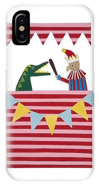 Punch And Judy IPhone Case