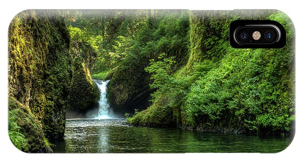 Punch Bowl Falls IPhone Case