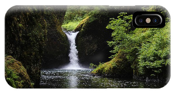 Punchbowl Falls Signed IPhone Case
