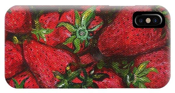 Pungo Strawberries IPhone Case