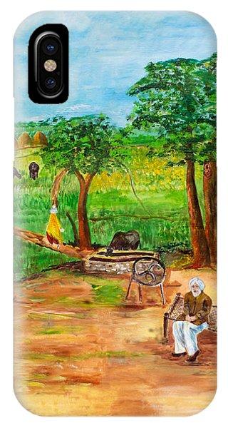 Punjabi Farmer IPhone Case
