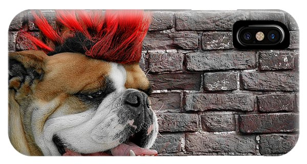 Punk Bully IPhone Case