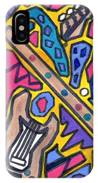 Punk Concept Painting 4 IPhone Case