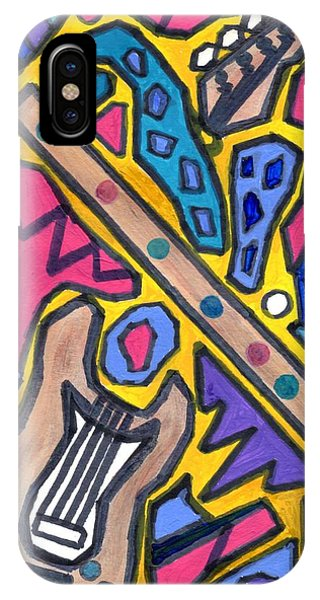 Punk Concept Painting 4 IPhone Case