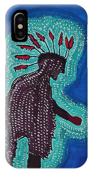 Punk Shaman Original Painting IPhone Case