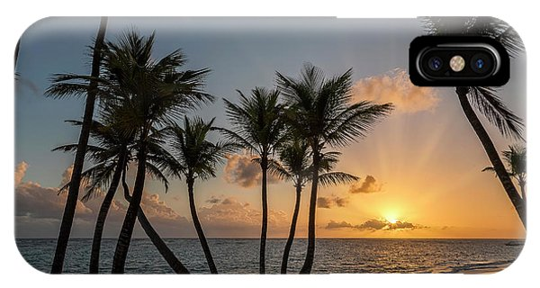 IPhone Case featuring the photograph Punta Cana Sunrise by Adam Romanowicz
