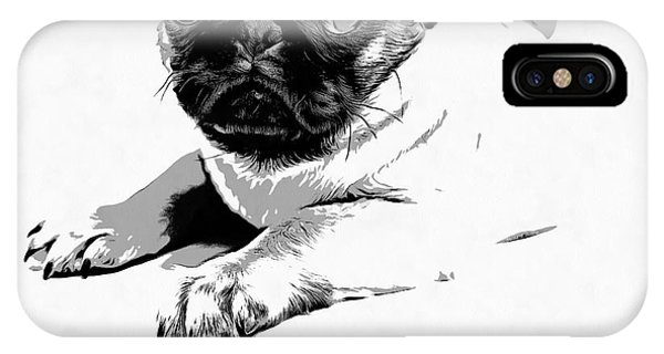 Love iPhone Case - Puppy Love by Edward Fielding