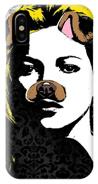 Pop-culture iPhone Case - Puppy Talk by Canvas Cultures