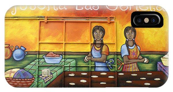 Pupusa Twins El Salvador IPhone Case