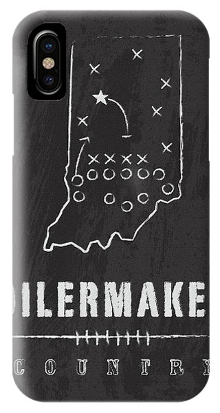 Purdue Boilermakers iPhone Case - Purdue Boilermakers Country by Damon Gray