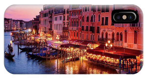Cityscape From The Rialto In Venice, Italy IPhone Case