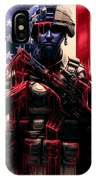 Army iPhone Case - Pure Valor by Canvas Cultures