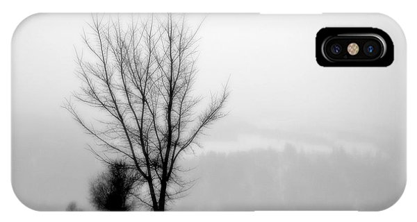 Pure White II IPhone Case