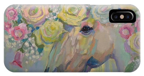 Unicorn iPhone Case - Purity by Kimberly Santini
