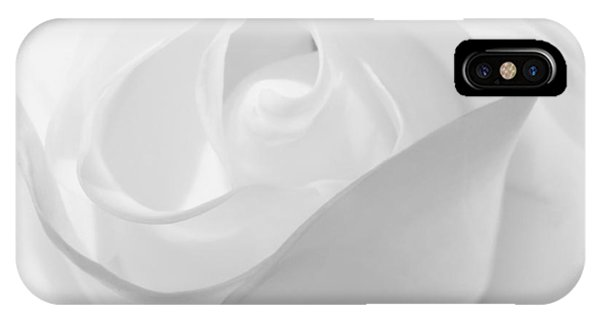 Purity - White Rose IPhone Case