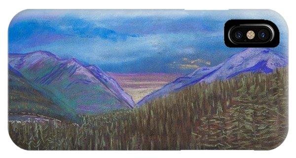 Purple Alaska IPhone Case