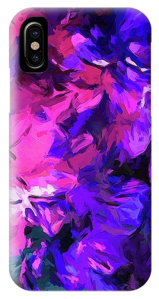 Purple Behind Pink IPhone Case