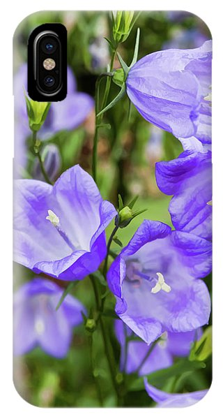 Purple Bell Flowers IPhone Case